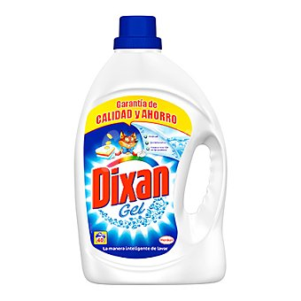 Dixan Detergente gel líquido 40 lavados