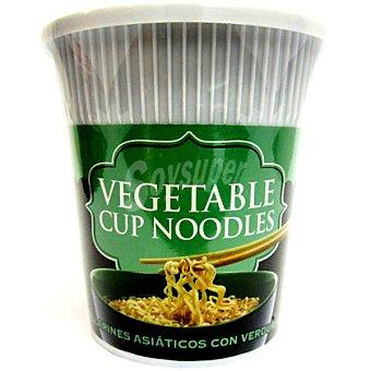 Tiger Khan Tallarines asiáticos con verduras Envase 60 g
