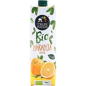 True foods Bio zumo de naranja ecológico con ágave envase 1 l