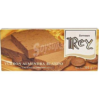 REY Turrón blando de almendra Tableta 300 g