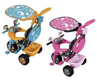FEBER Triciclo Musical Modelo Baby Plus Music 1 Unidad