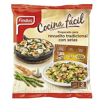 Findus Preparado para revuelto tradicional de setas Bolsa 300 g