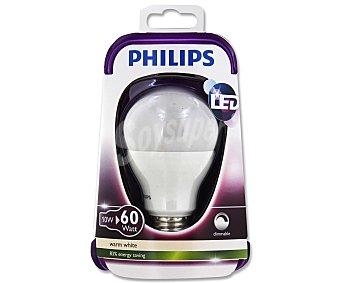 Philips Bombilla esférica led regulable 10W, con casquillo E27 (grueso) y luz cálida 1 unidad