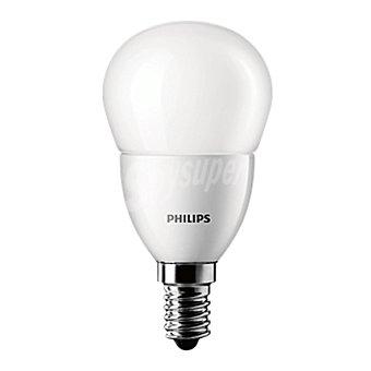 Philips Bombilla esferia led 40W E14 máte 1 ud