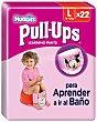 braguita de aprendizaje para niña talla 6 - 16-23 kg 22 unidades Pull-Ups Huggies