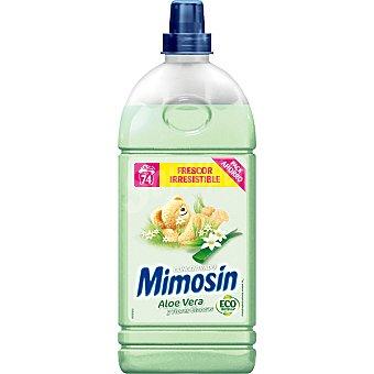 MIMOSIN suavizante concentrado Aloe Vera y Flores Blancas botella 2 l 74 dosis