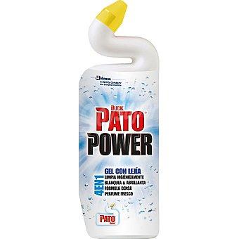Pato Desinfectante WC 4 en 1 power gel con lejía Botella 750 ml