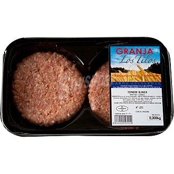 PASSION MEAT Hamburguesas de ternera blanca 2 unidades bandeja 300 g 2 unidades