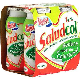 Kalise Saludcol, yogur líquido natural que reduce el colesterol Pack 4 envase 100 g