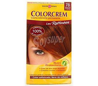 Colorcrem Tinte marrón praline N.78 Caja 1 unid
