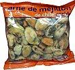 Mejillon congelado cocido (sin concha) Paquete 275 g peso neto escurrido Mascato