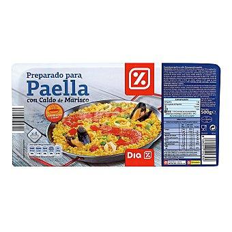 DIA Preparado de paella con caldo Envase 500 gr