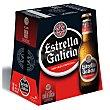 Cerveza especial mini Pack 6 botellas x 20 cl Estrella Galicia