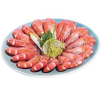 Langostinos cocidos Madagascar 60-80 piezas Al peso 1 kg