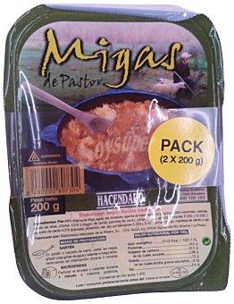 HACENDADO Migas refrigeradas 2 x 200 g