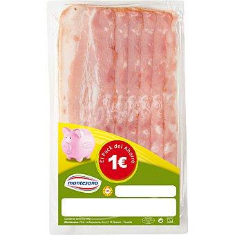 Montesano Bacon ahumado Sobre 100 g