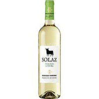Solaz Vino Blanco Joven Botella 75 cl