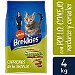 Alimento para gatos caprichos de la granja Bolsa 4 kg Brekkies Affinity
