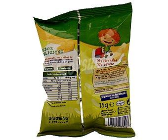 Hero Baby Gusananos con queso 100% naturales 12m+ Nanos Envase 15 g