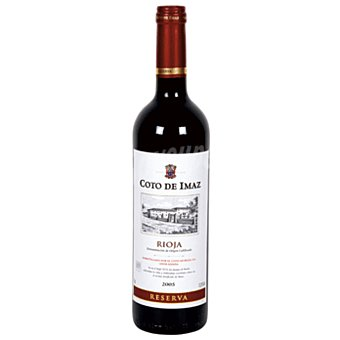 Coto de Imaz Vino Tinto Reserva Rioja Botella 75 cl