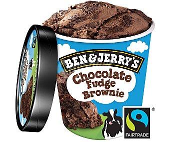 Ben & Jerry's Helado chocolate fudge brownie Tarrina 500 ml