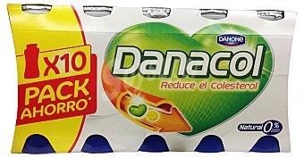 Danone Yogur liquido danacol natural (reduce el colesterol) Botellin pack 10 x 100 g - 1 kg