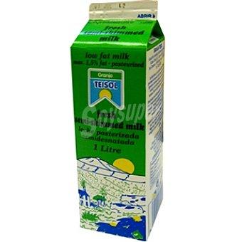 Teisol Leche fresca semidesnatada Envase 1 l