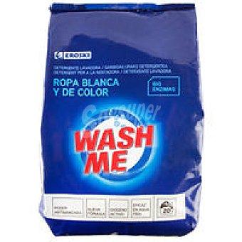 Eroski Detergente en polvo Bolsa 20 cacitos