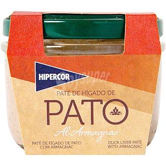 Hipercor Paté de hígado de pato al armañac tarrina 100 g Tarrina 100 g