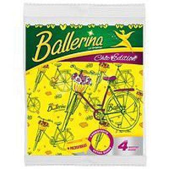 Ballerina Bayeta Chic Edition Pack 4 unid