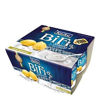Kaiku Yogur Bio limón Pack de 4x125 g