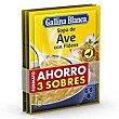 Sopa de ave con fideos 291g Gallina Blanca