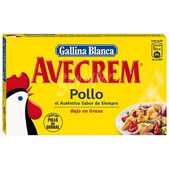 AVECREM Caldo de pollo estuche 90 g 8 pastillas