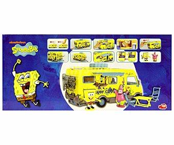 DICKIE TOYS Playset Caravana de Bob Esponja Happy Camper, simba 1 Unidad