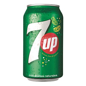 7Up Refresco de lima Lata 33 cl
