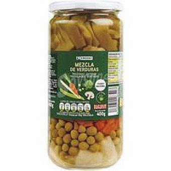 Eroski Mezcla de verduras Frasco 400 g