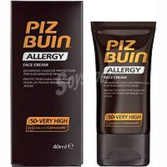PIZ BUIN Allergy Face Cream FP50 Tubo 40 ml