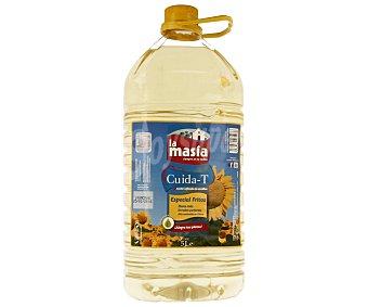 LA MASÍA Aceite de girasol alto oleico especial fritos 5 litros