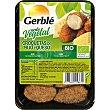 Croquetas de mijo y queso ecológicas receta vegetal Bandeja 220 g Gerblé