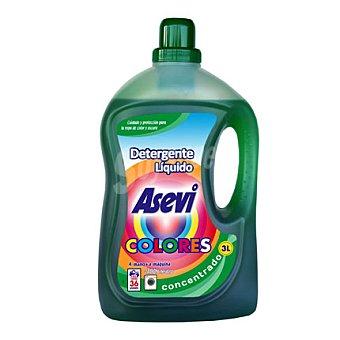 Asevi Detergente líquido colores 36 lavados