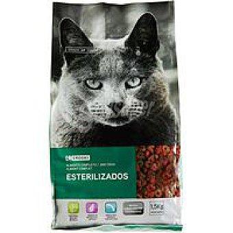 Eroski Alimento para gato esterilizado Paquete 1,5 kg