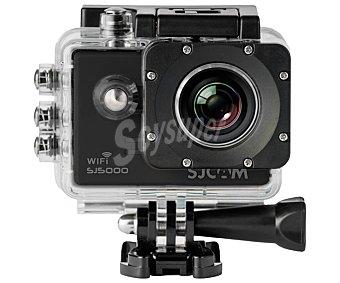 SJCam Videocámara deportiva fullhd (1080p), LCD 2″, 14 Mpx, resistente al agua, microsd SJ5000X wifi