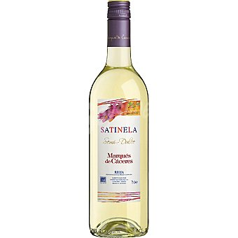Marqués de Cáceres Vino blanco D.O. Rioja Satinela Botella de 75 cl