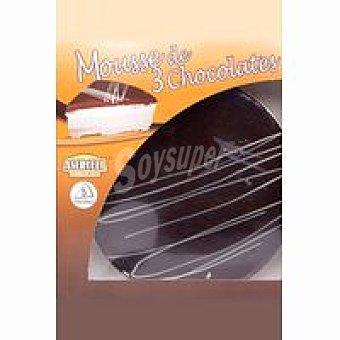 MOUSSE de 3 chocolates 375 g