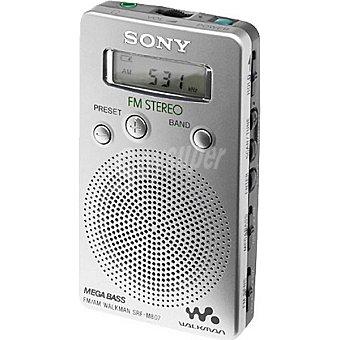 Sony Radio digital de bolsillo digital fm/am SRFM807 1 Unidad