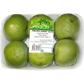 Manzana granny smitch peso aproximado Bandeja 800 g