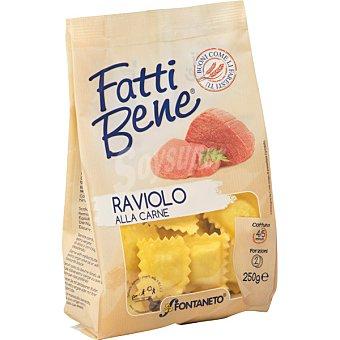 FONTANETO Pasta fresca ravioli de carne Bolsa 250 g