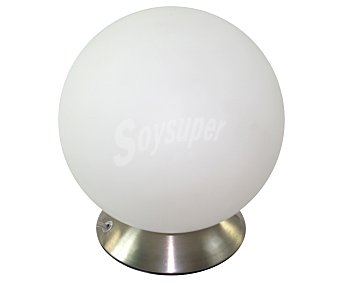 DUPI Lámpara de sobremesa modelo Babel Touch para bombillas con casquillo E14 hasta 28 Wattios, 28x10 centímetros 1 Unidad