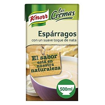 Knorr Crema de espárragos con suave toque de nata Las Cremas envase 500 ml