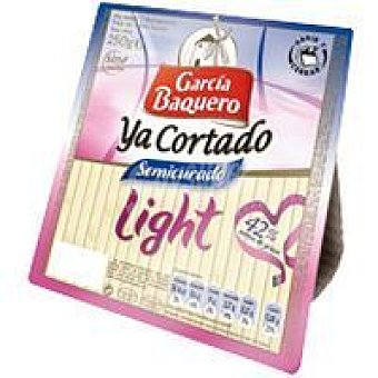 GARCÍA BAQUERO Ya Cortado Queso semi light 250 g